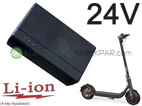 24V 1.6A Elektromos Roller töltő LI-ION akkumulátorhoz