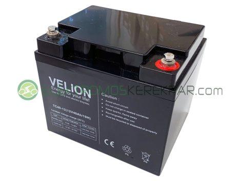 12V 40Ah elektromos kerekesszék akkumulátor