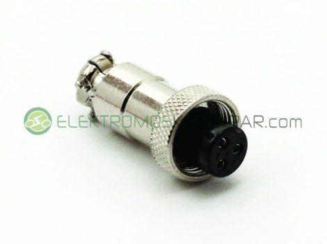 (3PM12) Töltő dugó elektromos kerékpárhoz (CK141795) - 06705125161