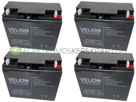 Elektromos kerékpár akkumulátor 6-dzm-22 12V 22Ah teljes választékban (CK142079) - 06705125161