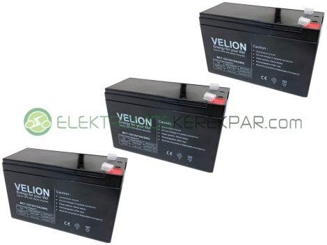 Gyerek elektromos kisautó / kismotor akkumulátor (36V 7Ah)