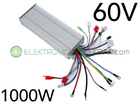 60V 1000W elektromos kerékpár vezérlő elektronika (CK365438) - 06705125161