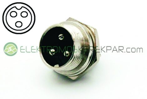 3pólusú töltő csatlakozó aljzat (CK389627) - 06705125161