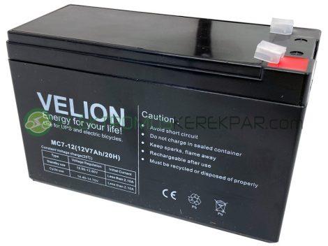 Gyerek elektromos kisautó / kismotor akkumulátor (12V 7Ah)