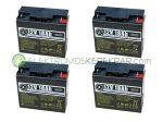 48V 18Ah elektromos kerékpár akkumulátor (6-DZM-18)