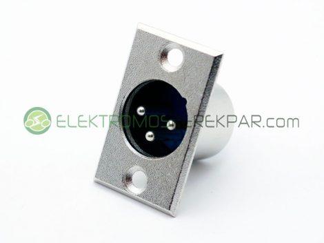 Elektromos kerékpár töltő aljzat (XLR) dugóhoz (CK489801) - 06705125161