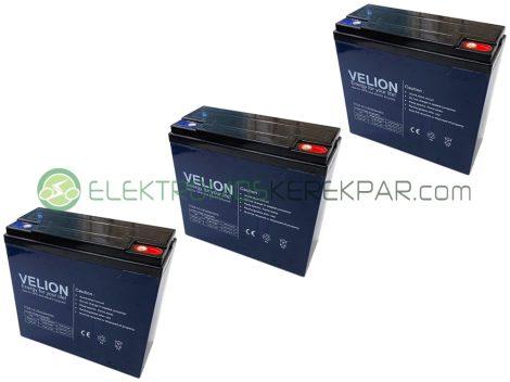 36V 22Ah elektromos kerékpár akkumulátor (6-DZM-22)