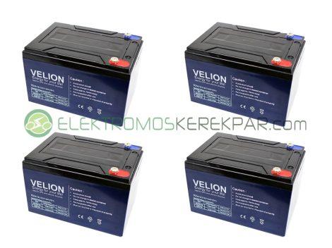 6-DZM-14 (48V 14Ah) elektromos kerékpár akkumulátor csomag
