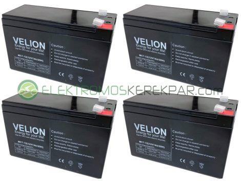 Gyerek elektromos kisautó / kismotor akkumulátor (48V 7Ah)