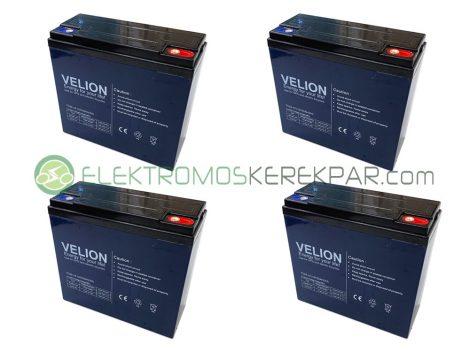 48V 22Ah elektromos kerékpár akkumulátor (6-DZM-22)