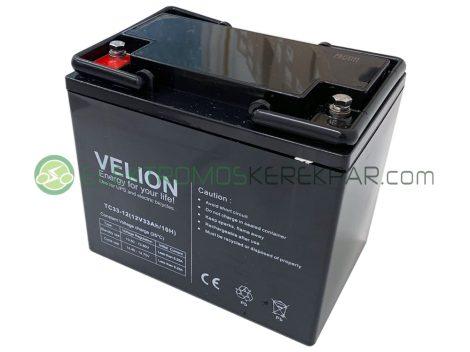 12V 33Ah elektromos kerekesszék akkumulátor