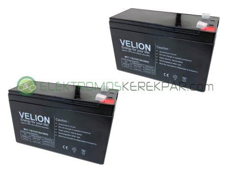 Gyerek elektromos kisautó / kismotor akkumulátor (24V 7Ah)