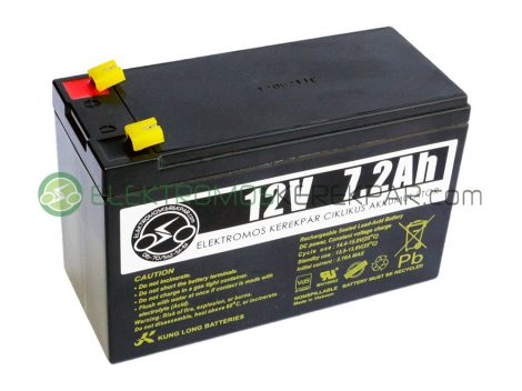 Elektromos kerékpár akkumulátor 6-dzm-7 12V 7Ah (CK898351) -  06705125161
