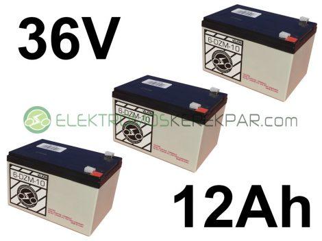 elektromos kerékpár akkumulátor 6-dzm-10 12V 12Ah árak (CK940074) - 06705125161